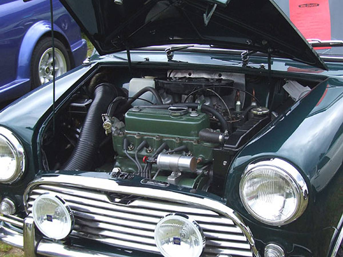Motormaling - grønn
